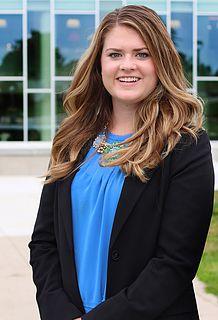 Ferris State University student and PRSSA Chapter President Emma Thibault.