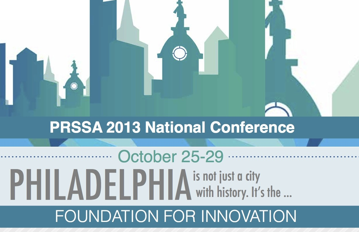 PRSSA 2013 National Conference [Infographic]