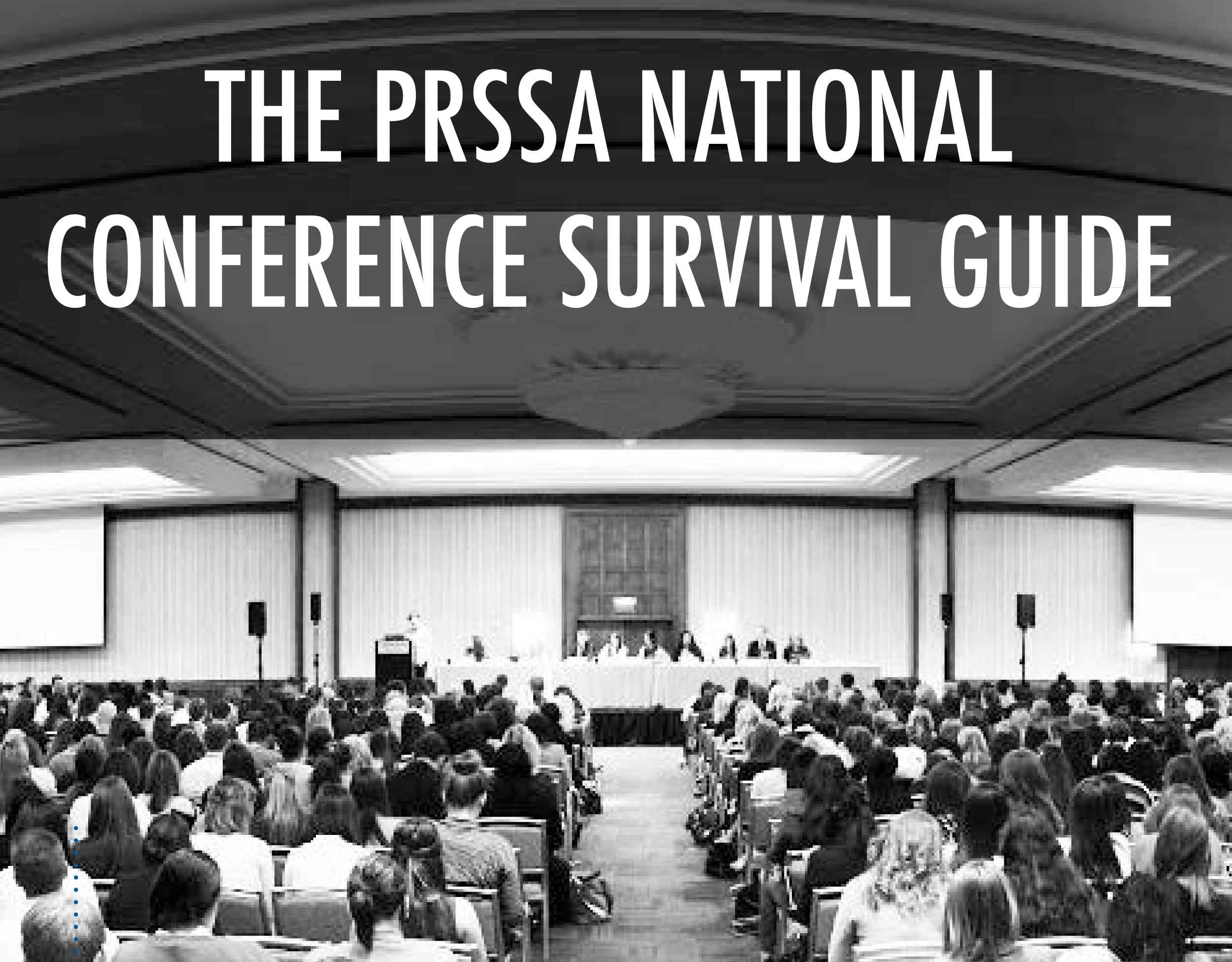 PRSSA 2013 National Conference Survival Guide [Infographic]