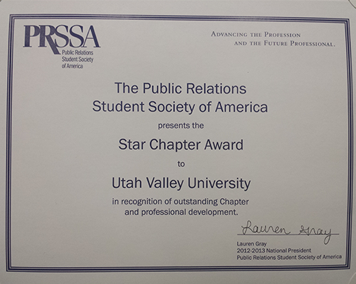 A Guide for Your Next Chapter Success Story: Earning a Star Chapter Award