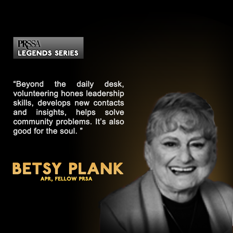 Legends of Public Relations: Betsy Plank