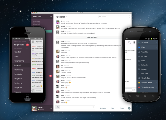 Chat tools like Slack can improve your Executive Board's daily communication. Photo courtesy of Tech Crunch.