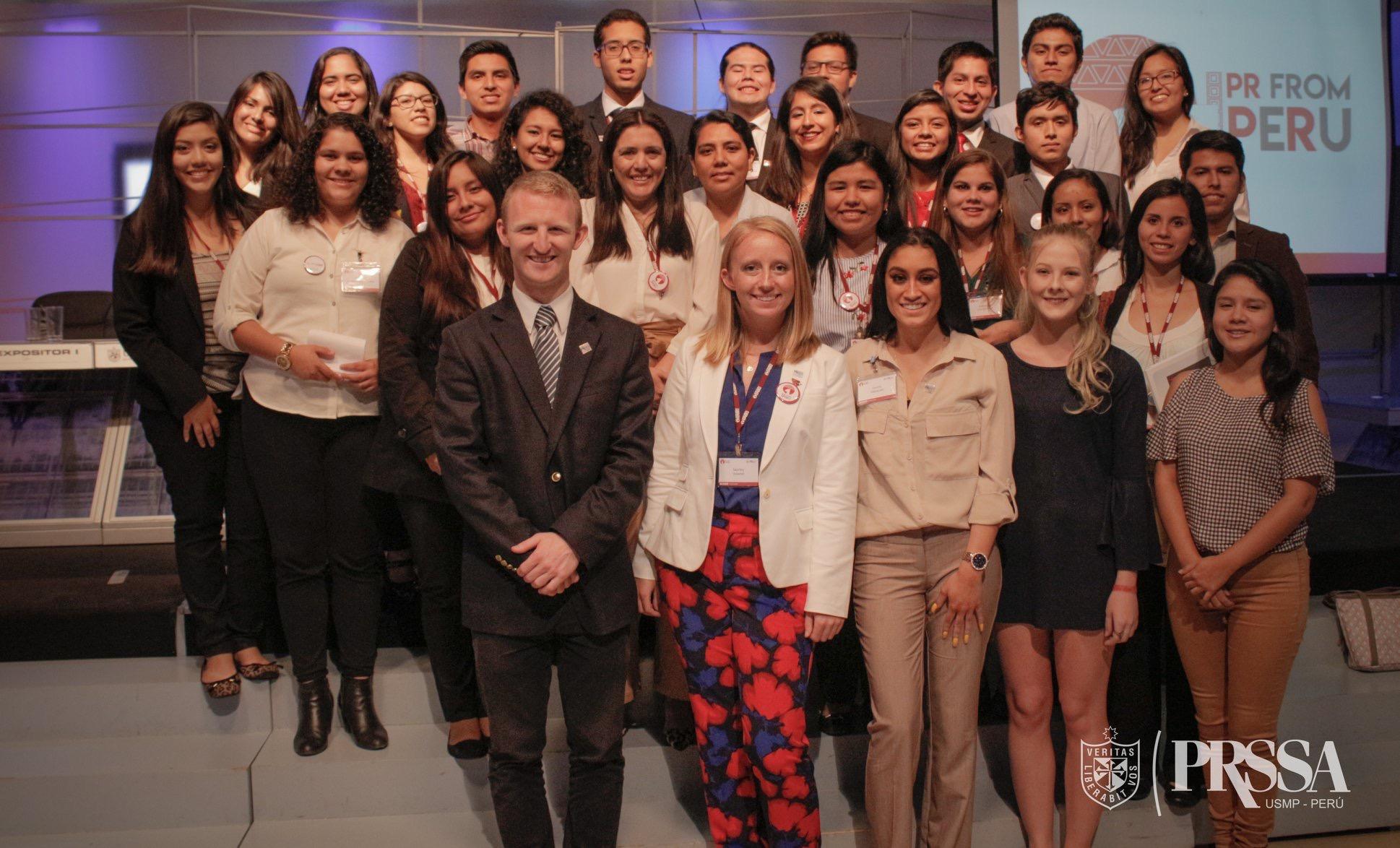 The First PRSSA International Regional Conference in Lima, Peru
