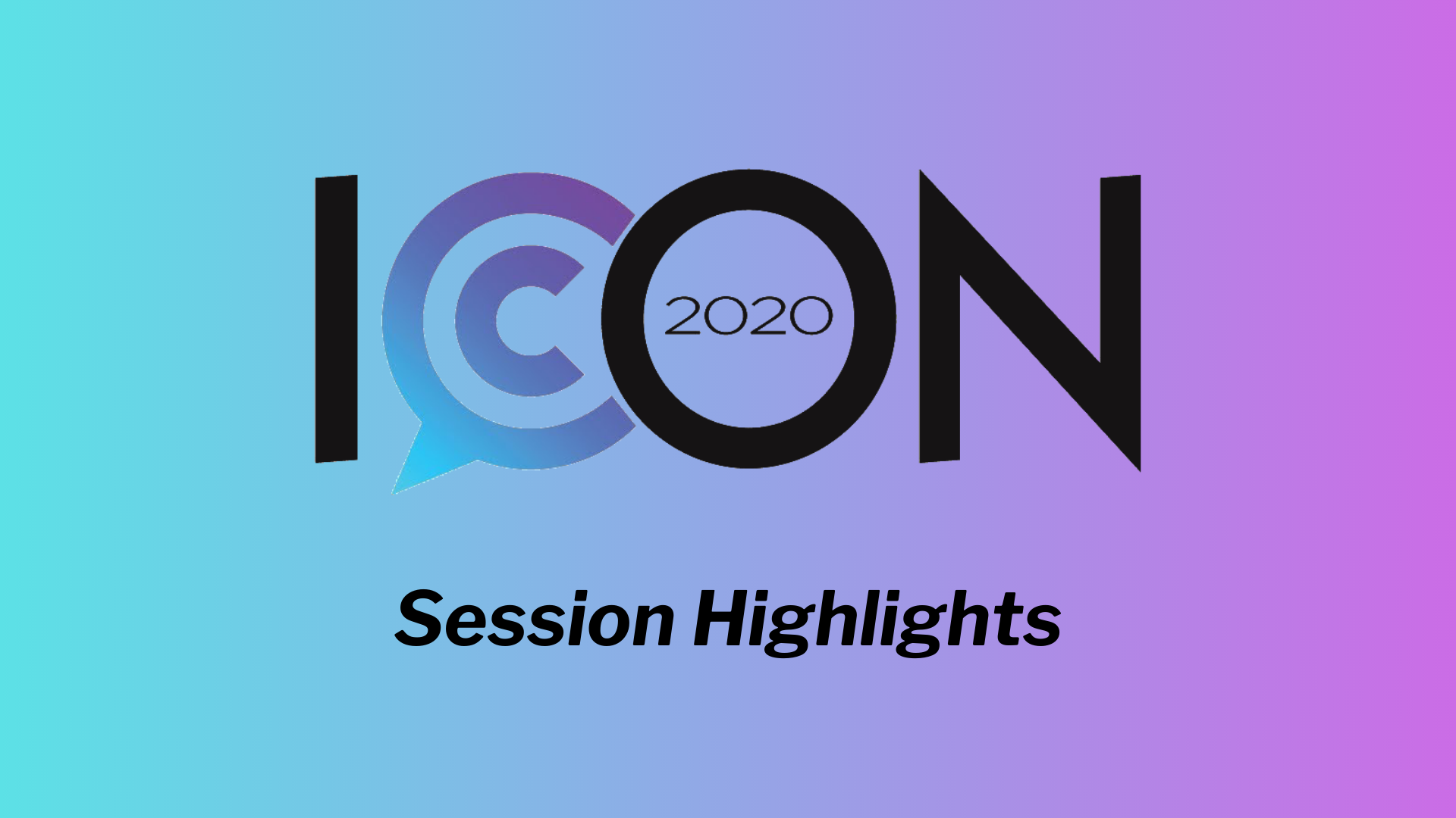 ICON 2020 Session Highlight- Inclusion and Addressing Imposter Syndrome