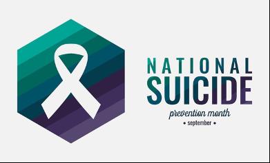 National Suicide Awareness Month logo
