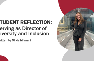 Student Reflection: Serving as Director of Diversity and Inclusion