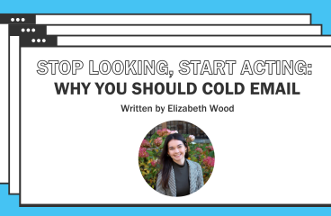 Stop Looking, Start Acting: Why You Should Cold Email