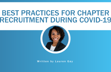 Best Practices For Chapter Recruitment During COVID-19