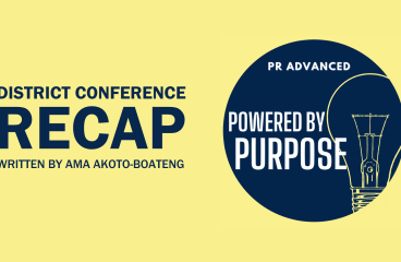 District Conference Recap: PR Advanced Powered by Purpose (Boston University 2021)