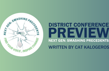 District Conference Preview- Next Gen: Smashing PRecedents (University of Rhode Island)