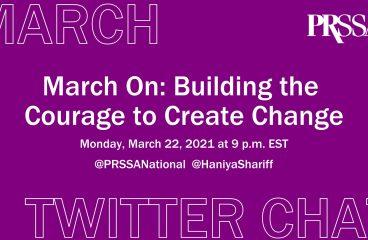 March Twitter Chat Recap: #MarchOnPRSSA