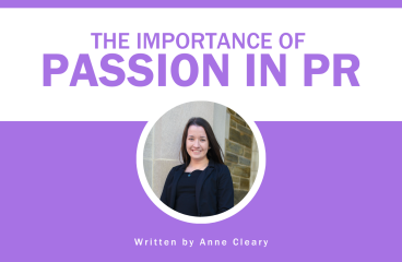 The Importance of Passion in PR