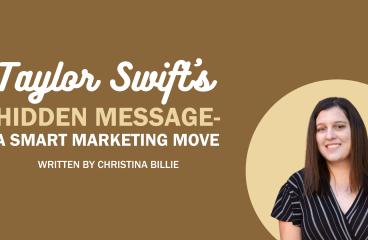 Taylor Swift's Hidden Message- a Smart Marketing Move