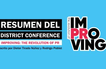 Resumen del District Conference ImPRoving: The Revolution of PR (Universidad de San Martín de Porres 2021)