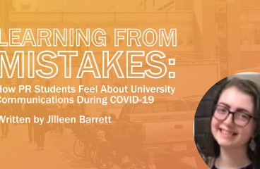 Learning From Mistakes: How PR Students Feel About University Communications During COVID-19