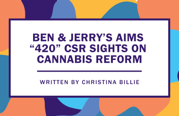 "Ben & Jerry's Aims ""420"" CSR Sights on Cannabis Reform"
