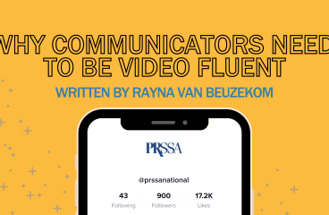 Why Communicators Need to be Video Fluent