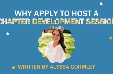 Why Apply to Host A Chapter Development Session