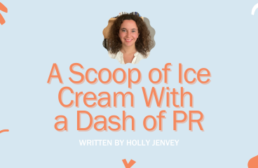A Scoop of Ice Cream With A Dash of PR