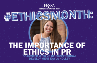 September Twitter Chat Recap #EthicsMonth: The Importance of Ethics in PR